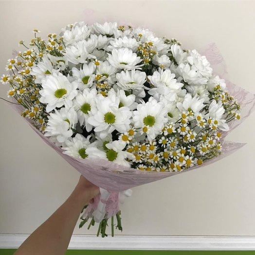 "Букет ""Ромашки"": букеты цветов на заказ Flowwow"