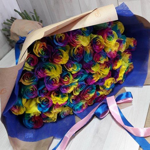 Мир радуги: букеты цветов на заказ Flowwow