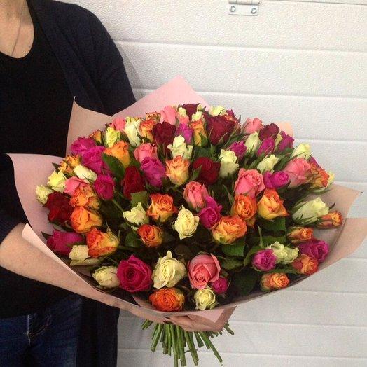 Букет из 51 розы Кении
