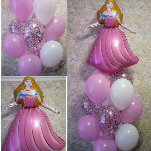 Микс для Принцессы: букеты цветов на заказ Flowwow