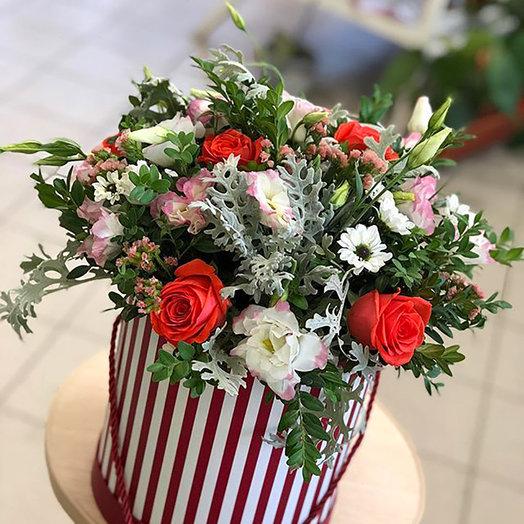 """Красивая коробка """"Цветочный рай"""""""