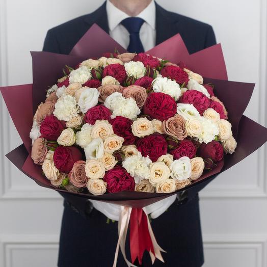 Букет Amour: букеты цветов на заказ Flowwow