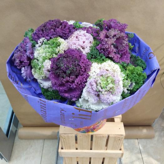Волшебная брассика: букеты цветов на заказ Flowwow