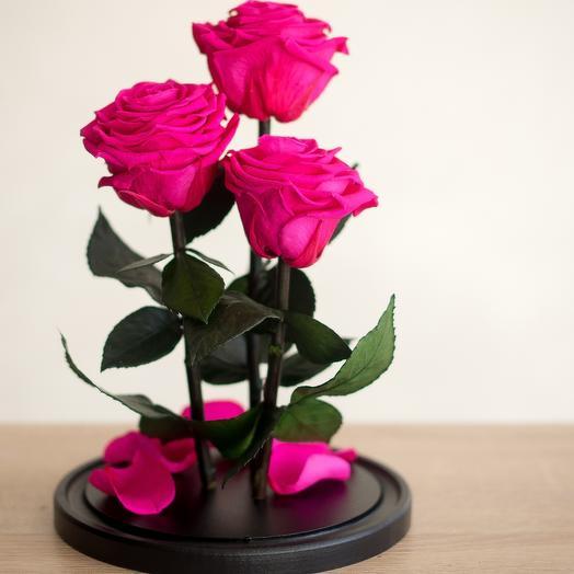 Композиция малиновый вкус: букеты цветов на заказ Flowwow