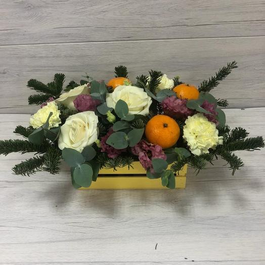 """""""Зимний сон"""": букеты цветов на заказ Flowwow"""