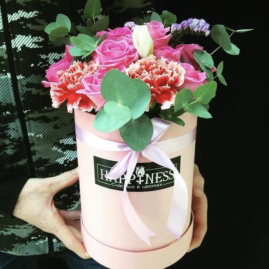Коробочка для принцессы: букеты цветов на заказ Flowwow