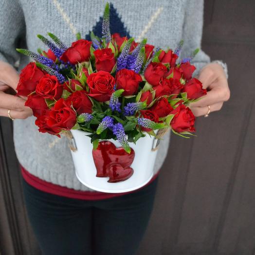 Любовная история: букеты цветов на заказ Flowwow