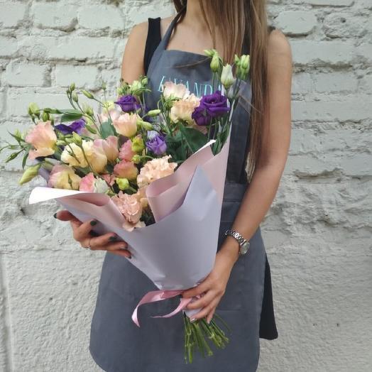 """Букет """"Нежная эустома"""": букеты цветов на заказ Flowwow"""