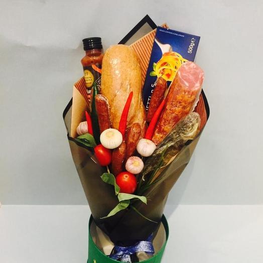 Вкусный букет: букеты цветов на заказ Flowwow