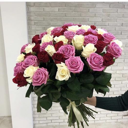 Французский сад: букеты цветов на заказ Flowwow