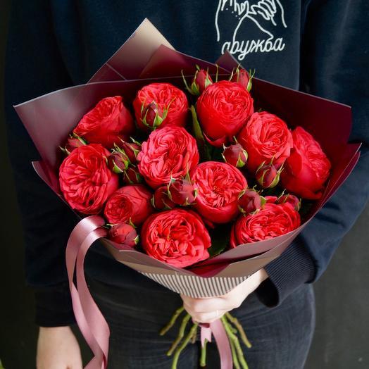 «Ред Пиано»: букеты цветов на заказ Flowwow