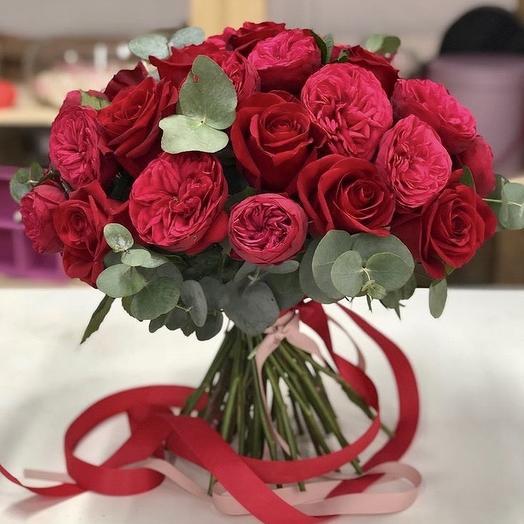 Ред Пиано ️: букеты цветов на заказ Flowwow