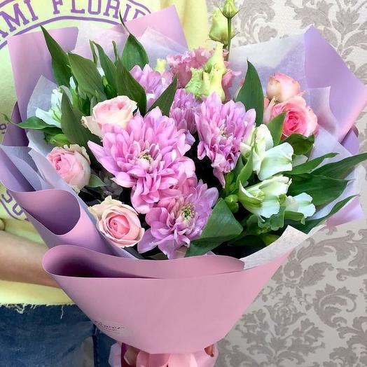 "Букет ""От Совушки"": букеты цветов на заказ Flowwow"