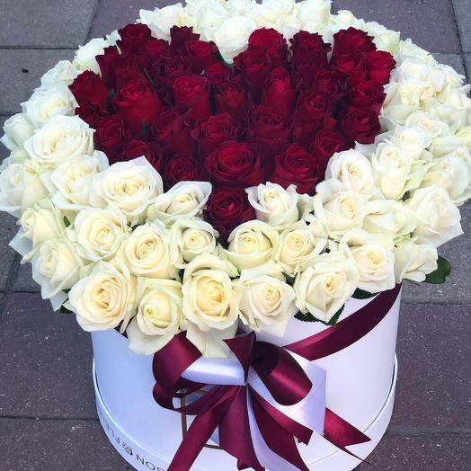 The heart of the beloved: flowers to order Flowwow