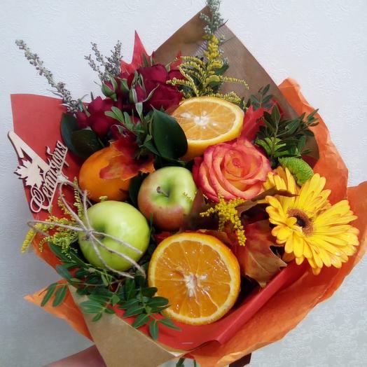 Осенний привет: букеты цветов на заказ Flowwow