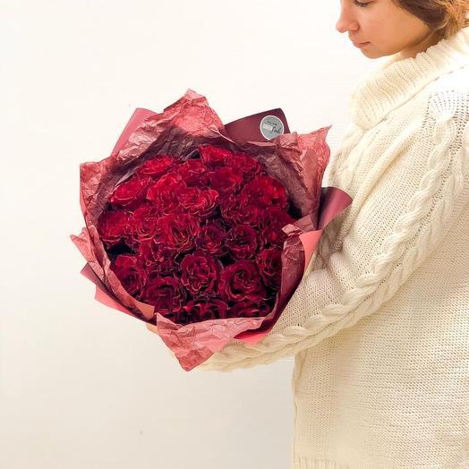 Пылкие чувства: букеты цветов на заказ Flowwow