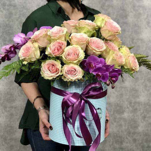 Пышный бал: букеты цветов на заказ Flowwow