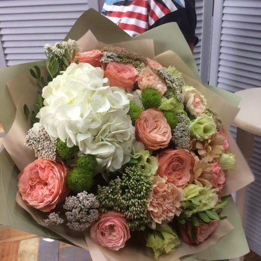 От любящего сердца: букеты цветов на заказ Flowwow