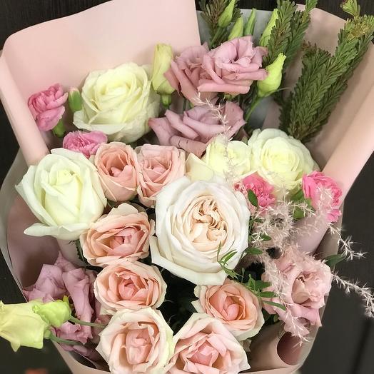 Нежная О Хара: букеты цветов на заказ Flowwow