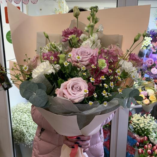 Свидание на набережной: букеты цветов на заказ Flowwow