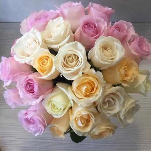 Счастье рядом. 25 роз