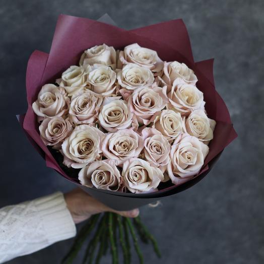 "Букет из роз ""Лунная мелодия"""
