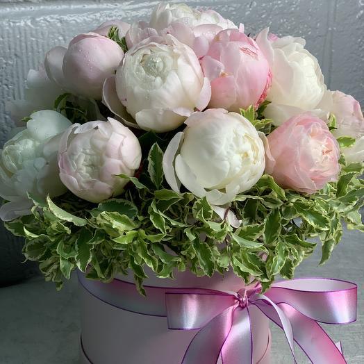 Коробка Гардения 17: букеты цветов на заказ Flowwow