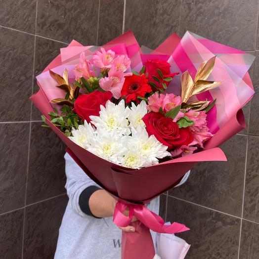 Любовь️: букеты цветов на заказ Flowwow