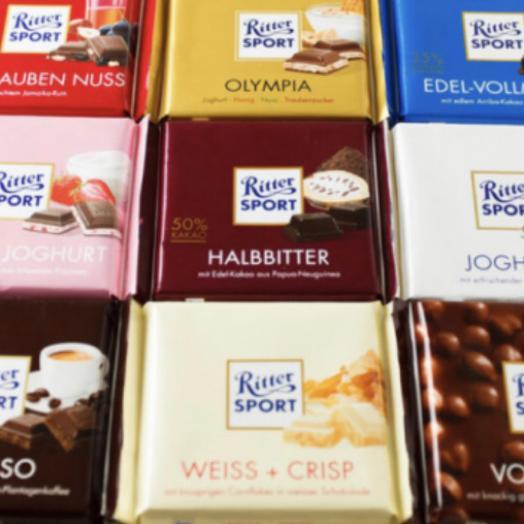 """Шоколад """"Ritter Sport """""""