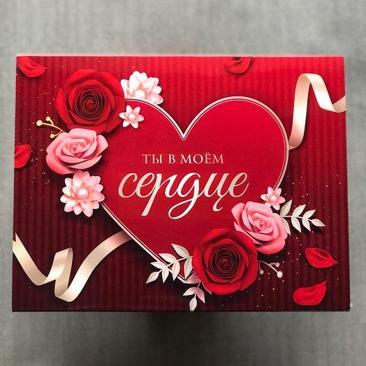Ты в моём сердце - набор шоколада