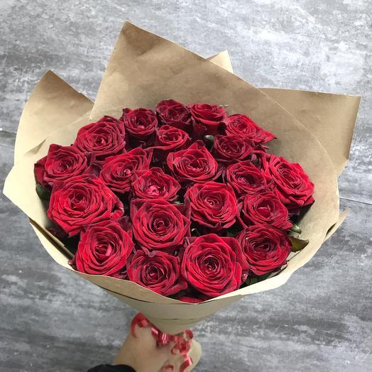 Букет из 21 шикарной розы ️