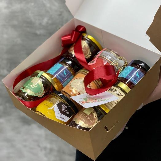 Большой сладкий набор мёда и конфитюра 🍯