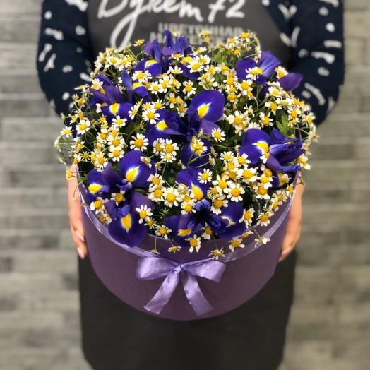 Цветы в коробке 007757