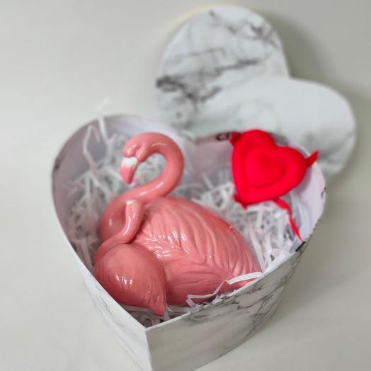 Розовый фламинго ( в наличии)