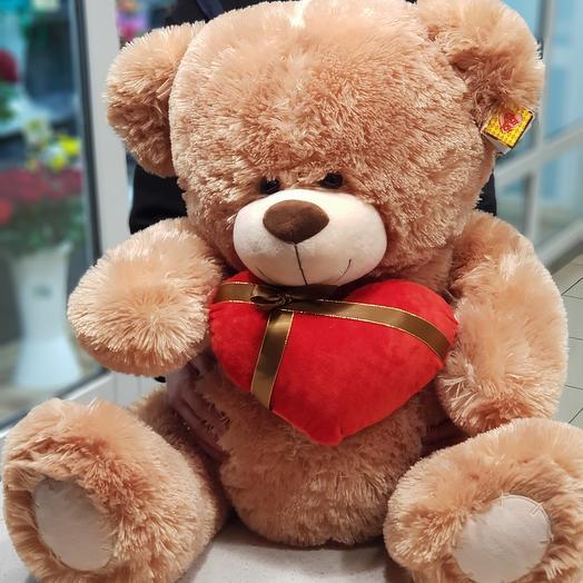 Медведь с сердцем 🦋
