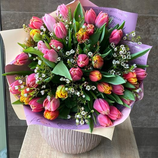 Микс Пионовидные Тюльпанов 35 шт