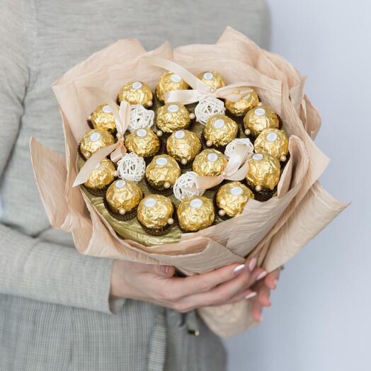 Букет из конфет Gold
