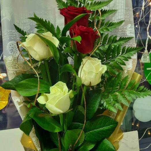 Букет розы микс
