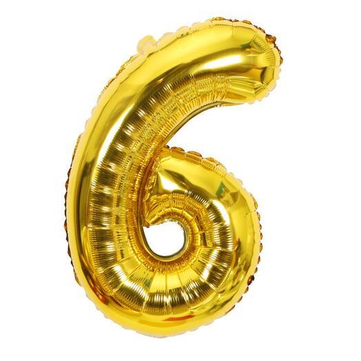 Цифра фольга золото (1м)
