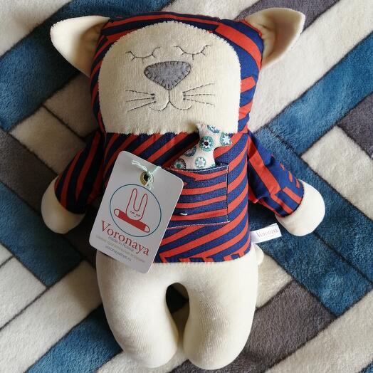 Дизайнерская игрушка VORONAYA TOYS BIG Котик 040509