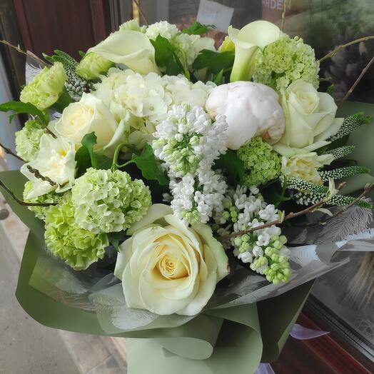 Букет цветов Нежная Весна
