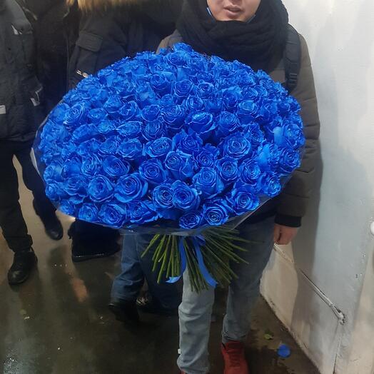 Эквадорская синияя роза