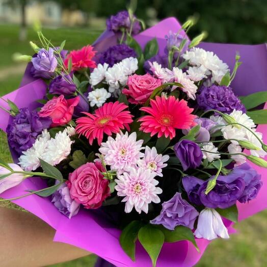 Фиолетово-малиновое чудо