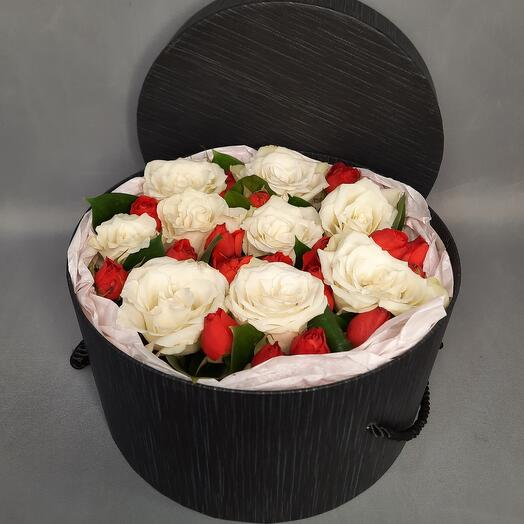 A box of roses