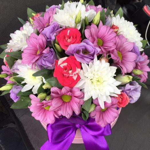 Цветы в коробке 044667
