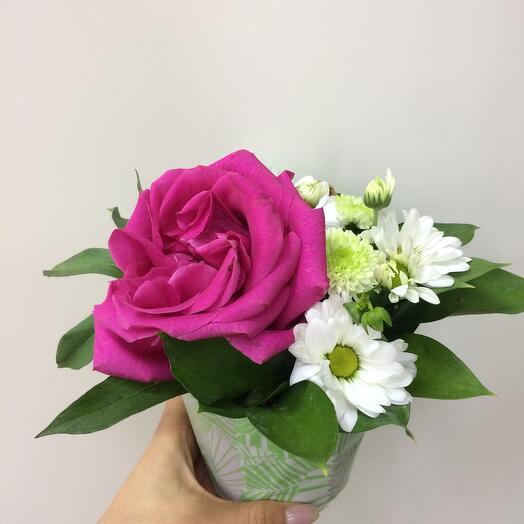 A floral compliment