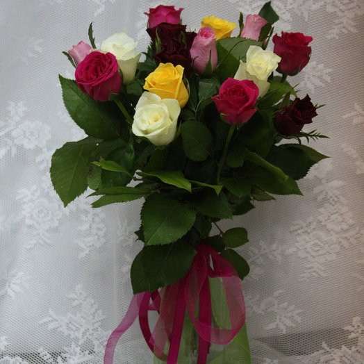 Букет 15 роз - Кения