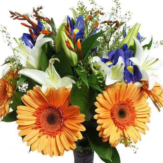 Букет Оранжевое солнце: букеты цветов на заказ Flowwow