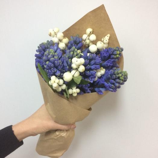 Заснеженный букет: букеты цветов на заказ Flowwow