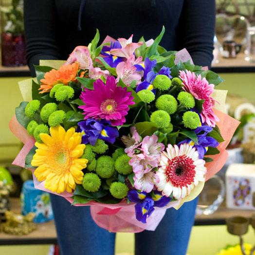 Букет цветов Роман с летом